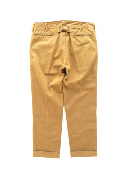 visvim  HIGH-WATER CHINO -GIZA CHINO- (KHAKI)4