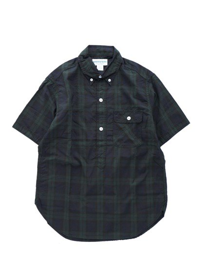 SASSAFRAS GREEN THUMB SHELL SHIRT 1/2 OXFORD (CHECK)
