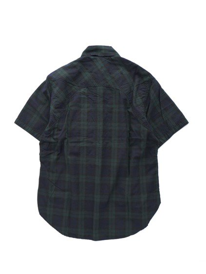 SASSAFRAS GREEN THUMB SHELL SHIRT 1/2 OXFORD (CHECK)4