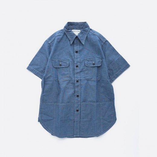 C&P.O. APRON SHIRT 1/2 5ozCHAMBRAY