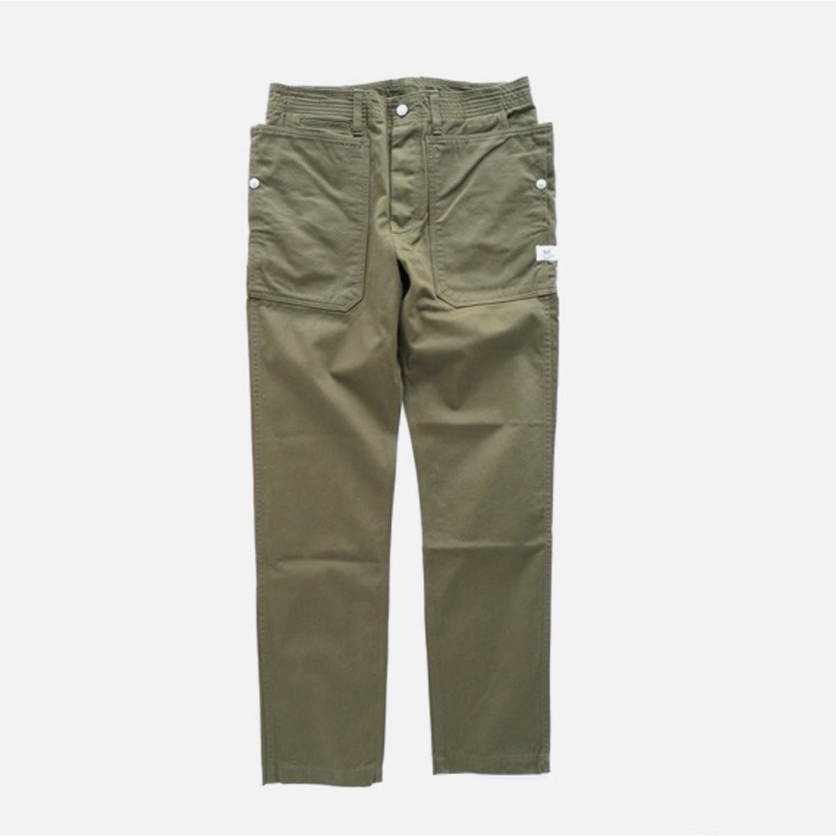 SASSAFRAS FALLLEAF SPRAYER PANTS CHINO (OLIVE)
