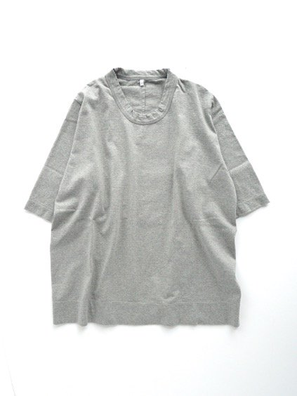 FIRMUM OPEN END SPINNING COTTON ROUND BODY JERSEY CUTSEW (GREY TOP)