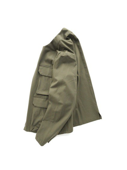 FIRMUM COTTON POLYESTER 2WAY STRETCH TWILL JACKET (OLIVE)3