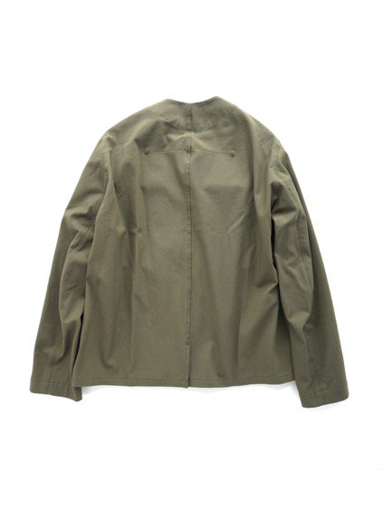 FIRMUM COTTON POLYESTER 2WAY STRETCH TWILL JACKET (OLIVE)4