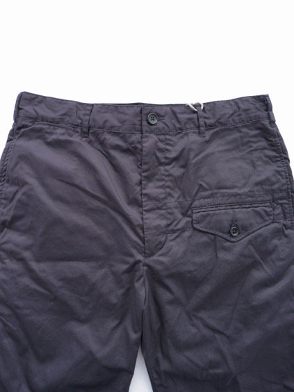Engineered Garments Ghurka Short - High Count Twill (Navy)2