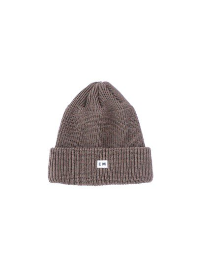 ENDS & MEANS  WATCH CAP (LIGHT GRAY) (DARK BROWN)3