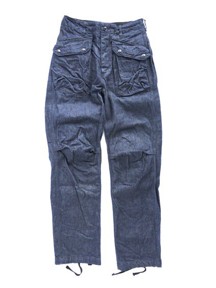 Engineered Garments Norwegian Pant - Cone Denim  (Indigo)
