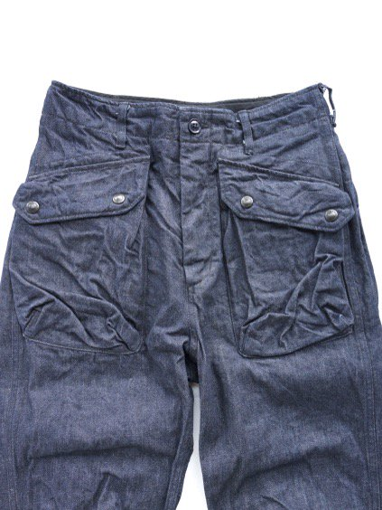 Engineered Garments Norwegian Pant - Cone Denim  (Indigo)2