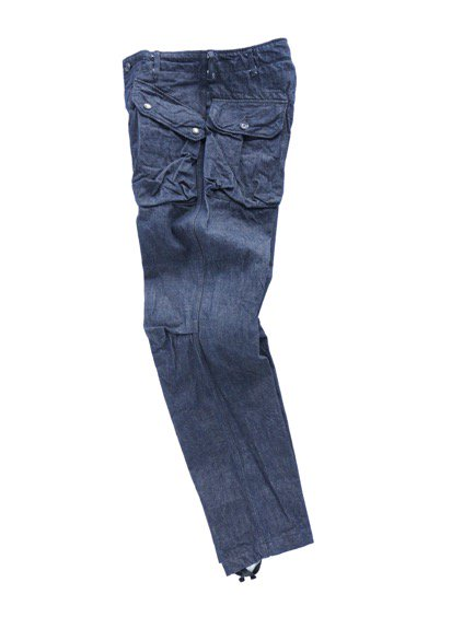Engineered Garments Norwegian Pant - Cone Denim  (Indigo)3