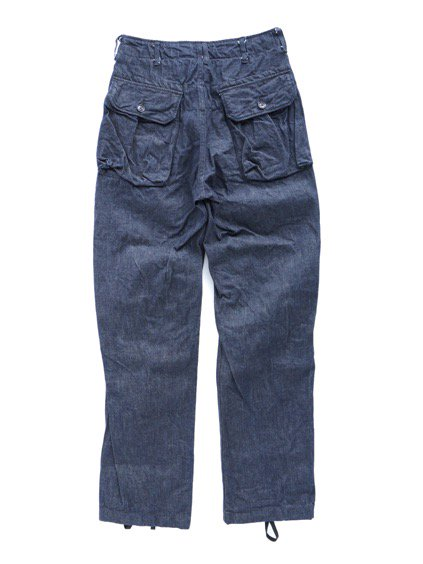 Engineered Garments Norwegian Pant - Cone Denim  (Indigo)4