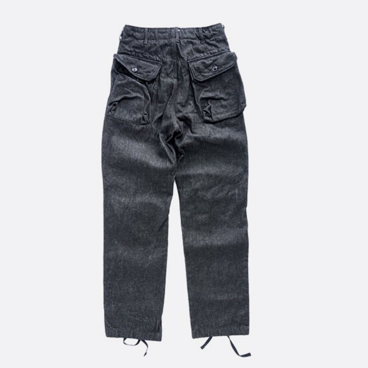 Engineered Garments Norwegian Pant - Heavy Denim  (Black)2