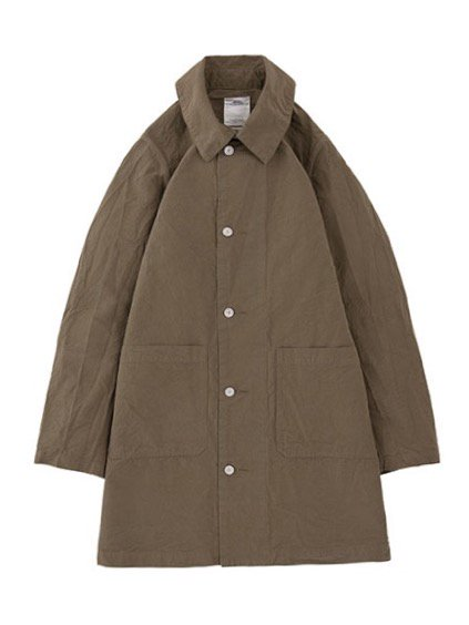 visvim  GREASE MONKEY COAT  C/LI (OLIVE)
