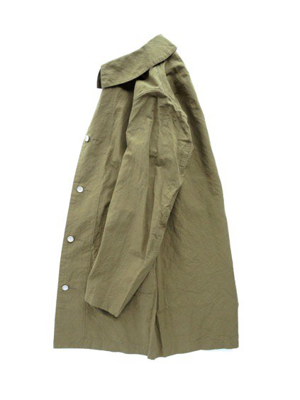 visvim  GREASE MONKEY COAT  C/LI (OLIVE)3
