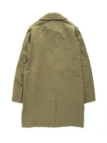 visvim  GREASE MONKEY COAT  C/LI (OLIVE)4