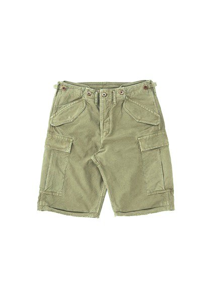 visvim  EIGER SANCTION SHORTS (GREEN)