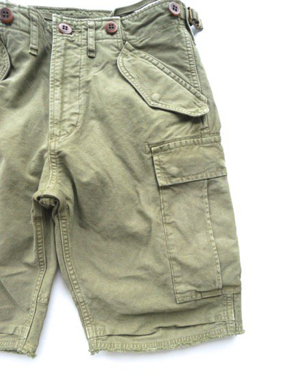 visvim  EIGER SANCTION SHORTS (GREEN)2