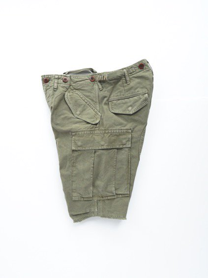 visvim  EIGER SANCTION SHORTS (GREEN)3