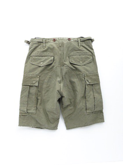 visvim  EIGER SANCTION SHORTS (GREEN)4