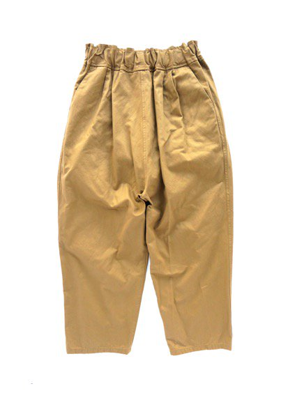 FIRMUM COMBED COTTON YARN DOUBLE STIN CLOTH EASY PANTS  (WALNUT)