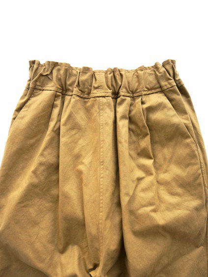 FIRMUM COMBED COTTON YARN DOUBLE STIN CLOTH EASY PANTS  (WALNUT)2