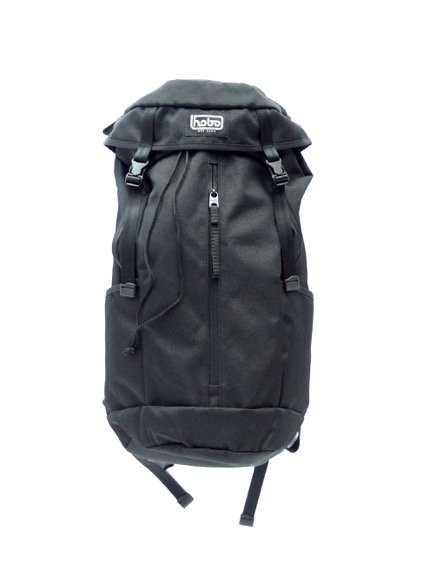 hobo Polyester Canvas Backpack 28L (BLACK)