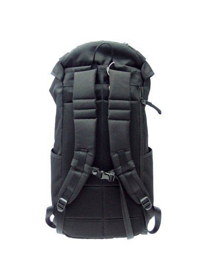 hobo Polyester Canvas Backpack 28L (BLACK)2