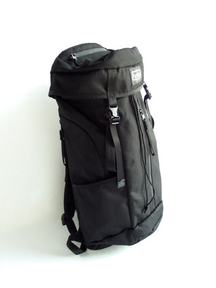 hobo Polyester Canvas Backpack 28L (BLACK)3