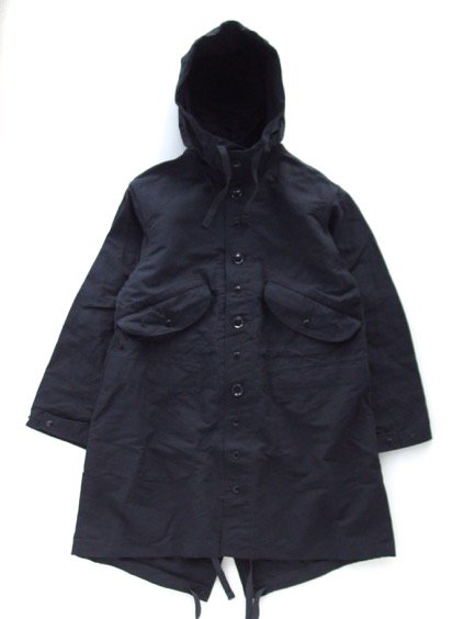 Engineered Garments  Highland Parka - Double Cloth - (NAVY)