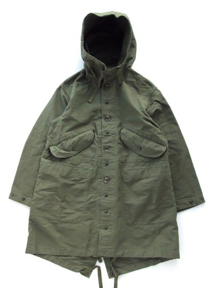Engineered Garments  Highland Parka - Double Cloth - (OLIVE)