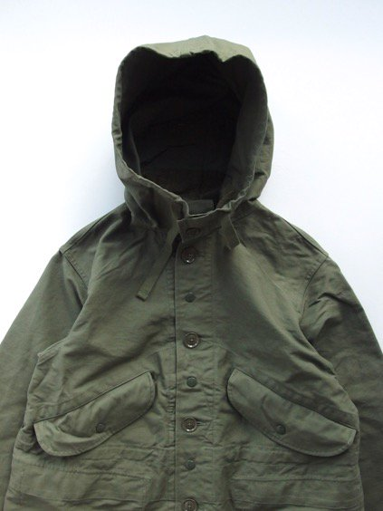 Engineered Garments  Highland Parka - Double Cloth - (OLIVE)2