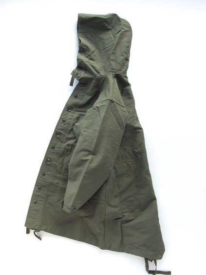 Engineered Garments  Highland Parka - Double Cloth - (OLIVE)3