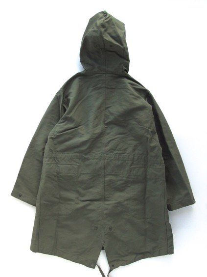 Engineered Garments  Highland Parka - Double Cloth - (OLIVE)4
