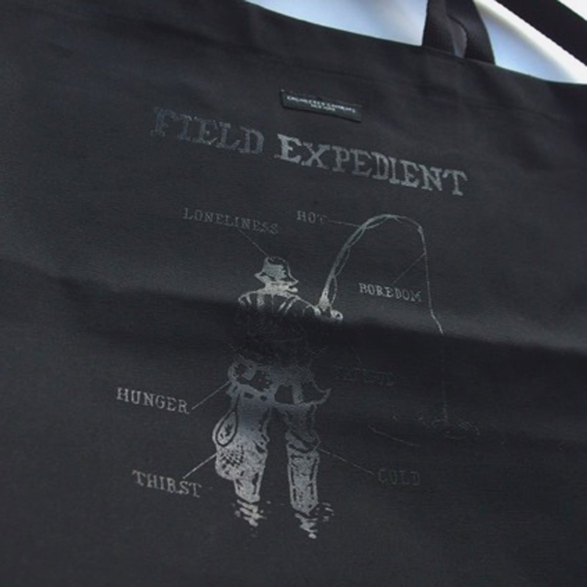 Engineered Garments Carry All Tote - Field Expedient  (Black)3