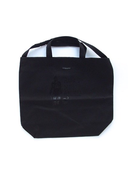 Engineered Garments Carry All Tote - Alone.Me & Animal  (Black)
