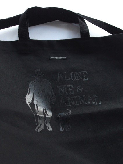 Engineered Garments Carry All Tote - Alone.Me & Animal  (Black)2