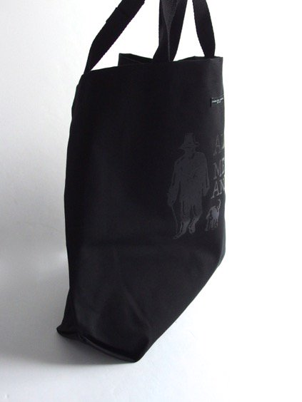 Engineered Garments Carry All Tote - Alone.Me & Animal  (Black)4