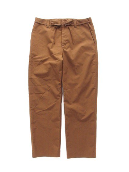 DESCENTE PAUSE WIDE TAPERED PANTS (MBRN)