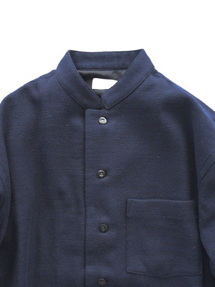 Phlannel Cotton Flannel Cook Shirt  (Navy)2