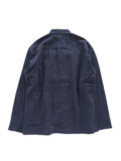 Phlannel Cotton Flannel Cook Shirt  (Navy)4