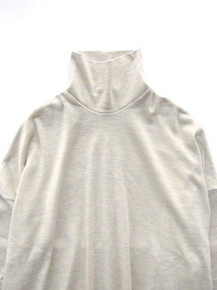 NO CONTROL AIR SUPER 120's WOOL INTERLOCK FABRIC  (natural top)2
