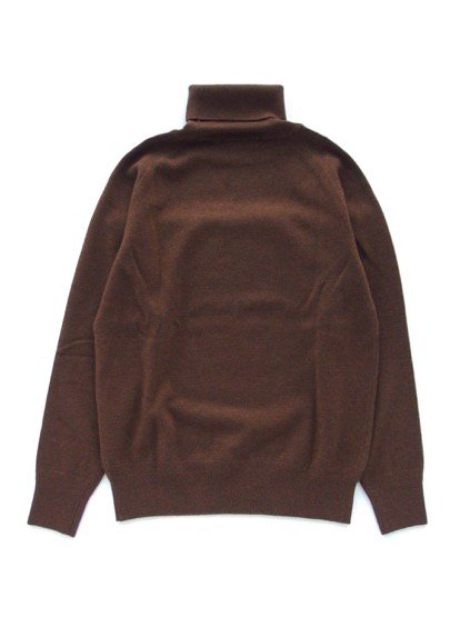 Phlannel Cashmere Wool Turtleneck Sweater  (Walnut)4