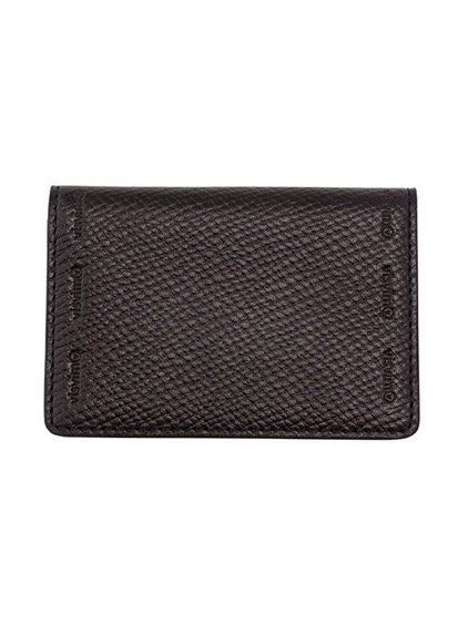 visvim  VEGGIE BIZ CARD CASE  (BLACK)