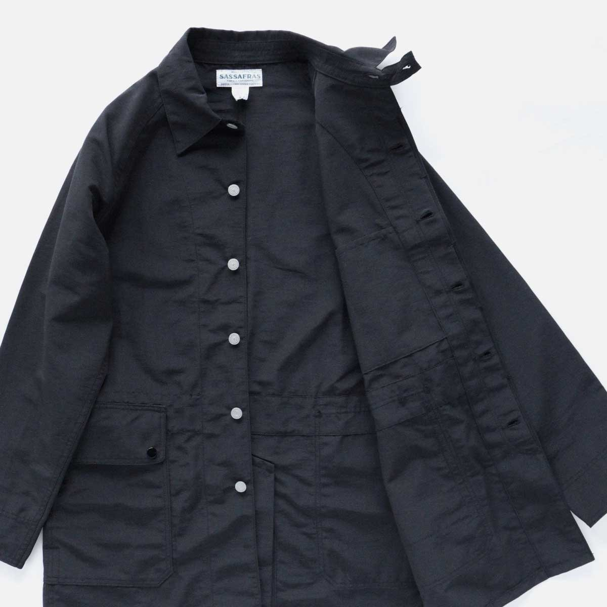 SASSAFRAS FALLLEAF COAT (BLACK)4