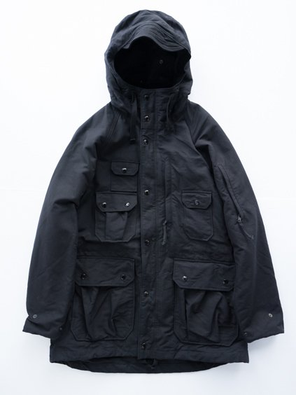 Engineered Garments Field Parka - Cotton Double Cloth (D.Black)
