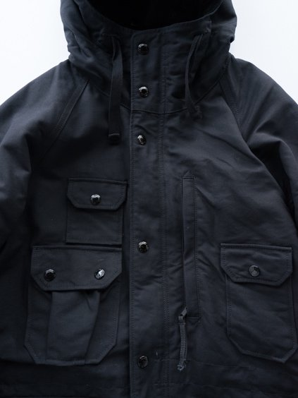 Engineered Garments Field Parka - Cotton Double Cloth (D.Black)2