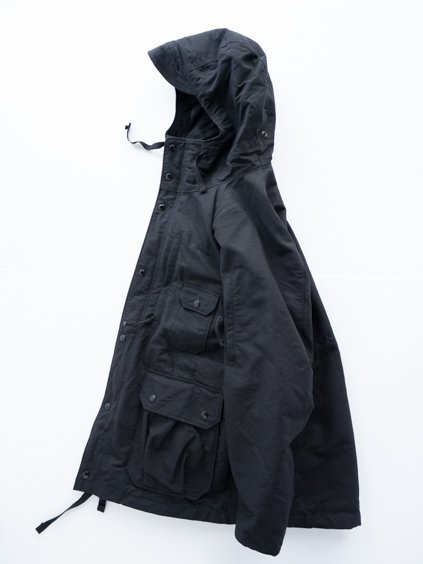 Engineered Garments Field Parka - Cotton Double Cloth (D.Black)3