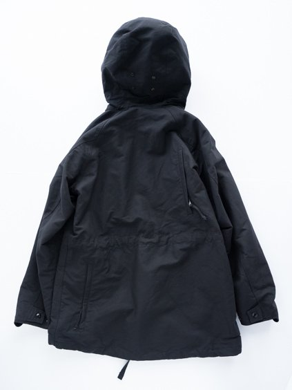 Engineered Garments Field Parka - Cotton Double Cloth (D.Black)4