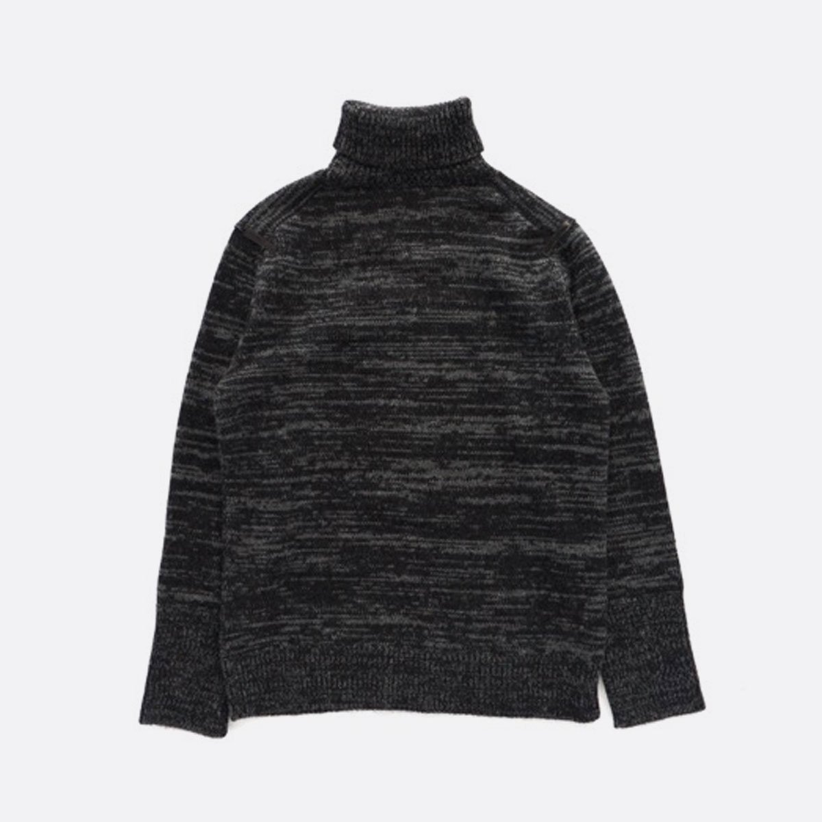 THE INOUE BROTHERS…  Low Gauge Turtle Neck Sweater (Grey)2