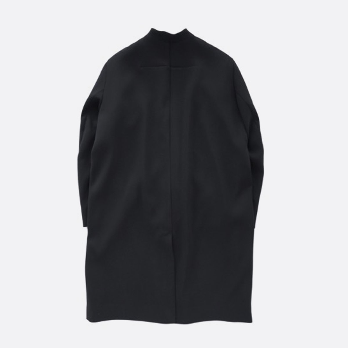 NO CONTROL AIR Polyester Triple layer double satin cloth coat  (black)2