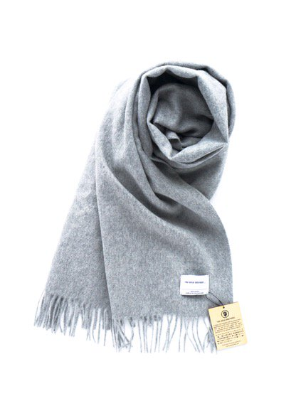 THE INOUE BROTHERS…  Large Woven Stole (Light Grey)(Navy)(Black)3